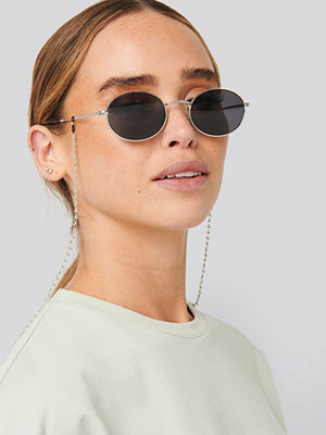 NA-KD Accessories Chain Sunglass Chain silver