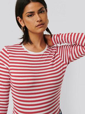 NA-KD Långärmad, Randig T-Shirt multicolor