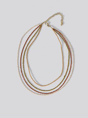Mango smycke Halsband multicolor