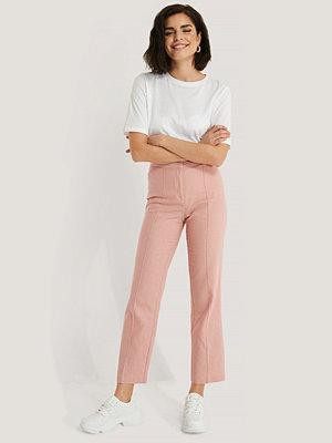 NA-KD Classic Linnebyxor rosa persikofärgade