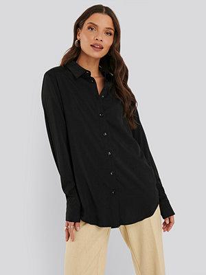 Tunikor - NA-KD Classic Skjorta svart