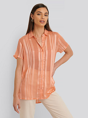 Sparkz Skjorta Med Kort Ärm rosa orange