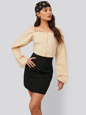 NA-KD Trend Minikjol svart