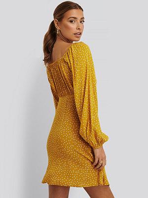 NA-KD Klänning gul