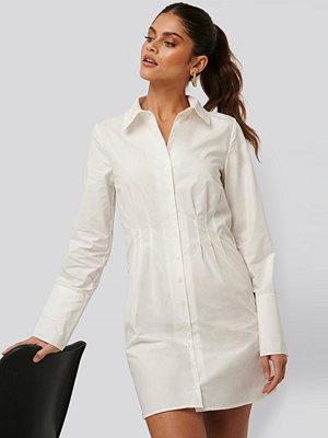 Jldrae x NA-KD Skjortklänning vit