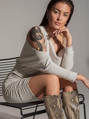 Olivia Salo x NA-KD Miniklänning grå