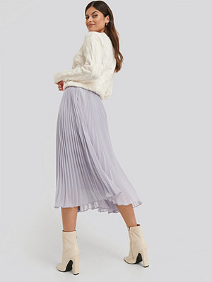 NA-KD Trend Ankle Length Pleated Skirt lila
