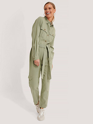 Jumpsuits & playsuits - NA-KD Jumpsuit grön