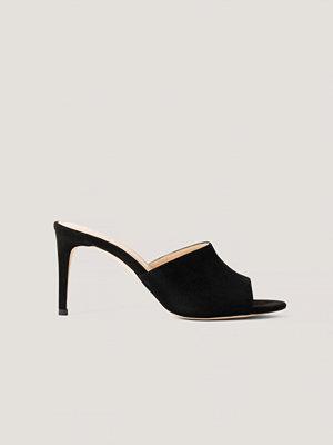 Pumps & klackskor - NA-KD Shoes Stiletto Mules svart