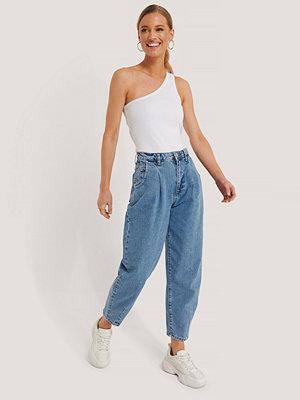 Jeans - Trendyol High Waist Balloon Jeans blå
