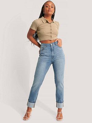 Jeans - NA-KD Jeans blå