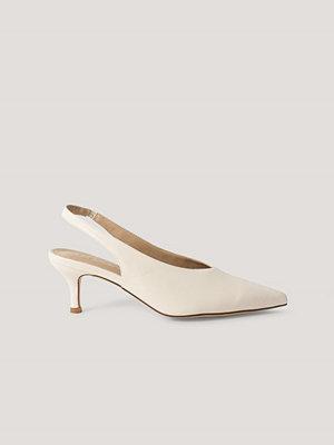 NA-KD Shoes Baspumps Med Slingback offvit