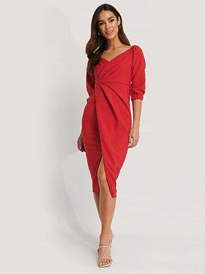 Trendyol Midiklänning röd