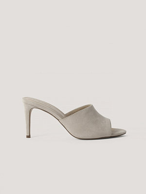 NA-KD Shoes Stiletto Mules beige