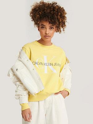 Tröjor - Calvin Klein Sweatshirt gul