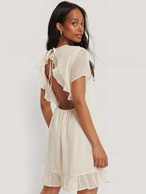 Rut & Circle Miniklänning beige