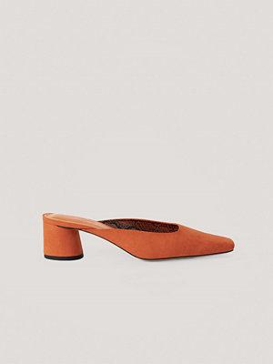 Pumps & klackskor - NA-KD Shoes Mules orange