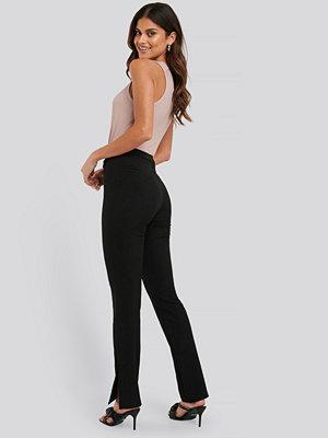 NA-KD Kostymbyxor Med Slits svart svarta