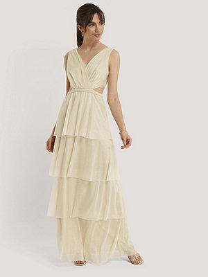 Trendyol Aftonklänning beige