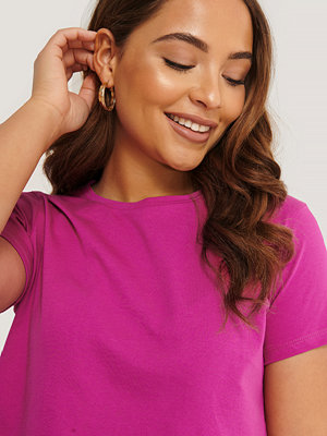 Trendyol Croppad T-Shirt lila