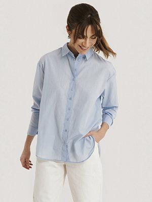 Trendyol Skjorta Med Lös Passform blå