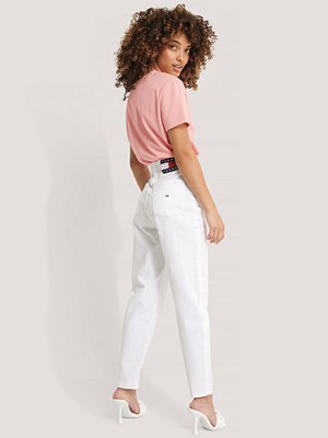 Tommy Jeans Mom-Jeans vit