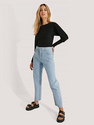 NA-KD Trend Raka Jeans blå