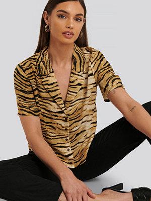 Rut & Circle Skjorta beige