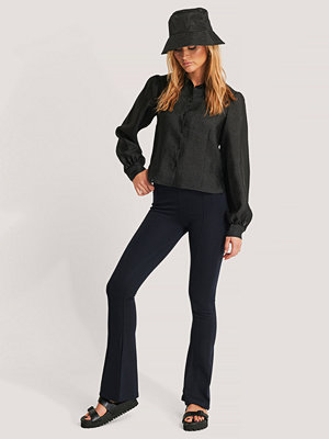 Trendyol Flared Trousers navy