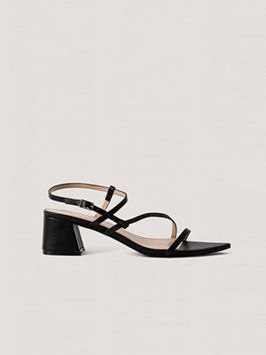Raid Högklackade Sandaler svart