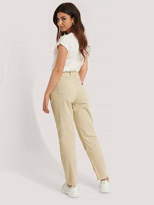Jeans - Abrand Avsmalnande Byxor beige
