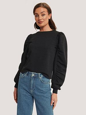 NA-KD Trend Sweatshirt Med Lång Ärm svart