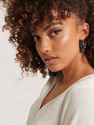 NA-KD Accessories smycke Bunch of Beads Earrings blå