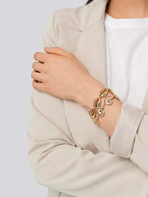 NA-KD Accessories smycke Armbandsset guld