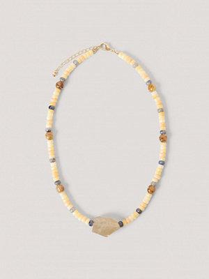 NA-KD Accessories smycke Halsband Med Stora Färgade Stenar multicolor