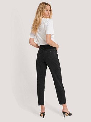Jeans - Abrand Höga Smala Jeans svart