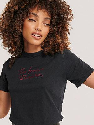 Mango T-Shirt Med Tryck grå