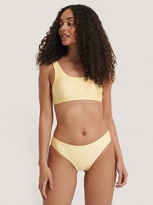 NA-KD Swimwear Sporty Bikini Briefs gul