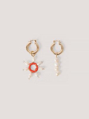 Mango smycke Hängande Hoopörhängen guld