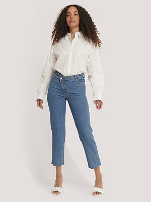 Jeans - NA-KD Trend Jeans blå