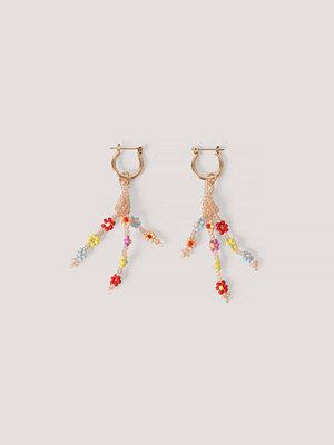 Mango smycke Örhängen Med Pärlor guld