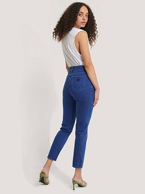 Jeans - Abrand Höga Smala Jeans blå