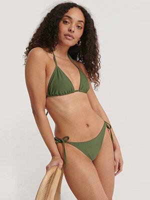Bikini - NA-KD Swimwear Triangle Panty grön