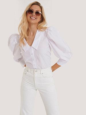 Skjortor - Trendyol Topp Med Puffärm vit