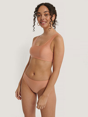 NA-KD Swimwear Sporty Bikini Briefs orange