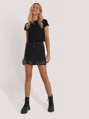 Trendyol Basic Minikjol I Denim svart