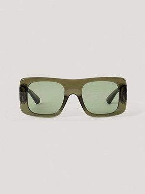 Mango Solglasögon grön