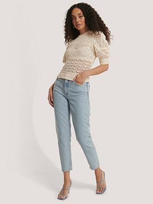 Jeans - Mango Mom-Jeans blå