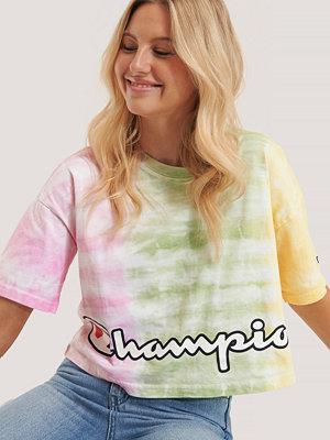 Champion T-Shirt Med Rund Halsringning multicolor