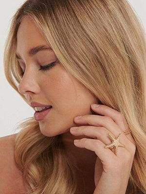 NA-KD Accessories smycke 2-Pack Ringar guld